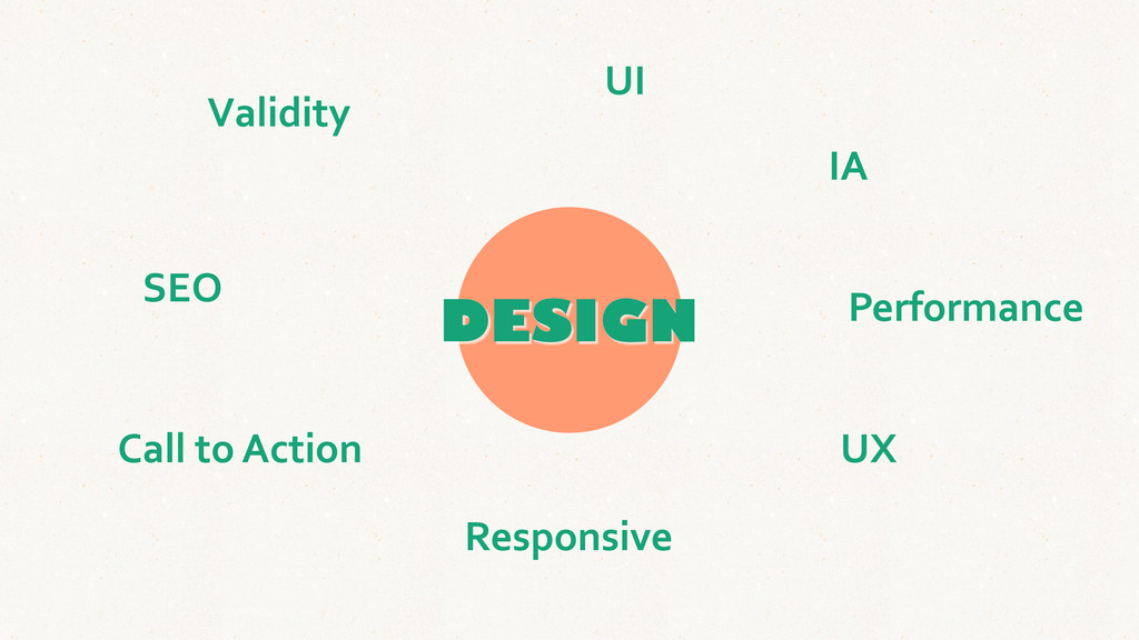 DESIGN SEO IA UX UI Validity Performance Call...