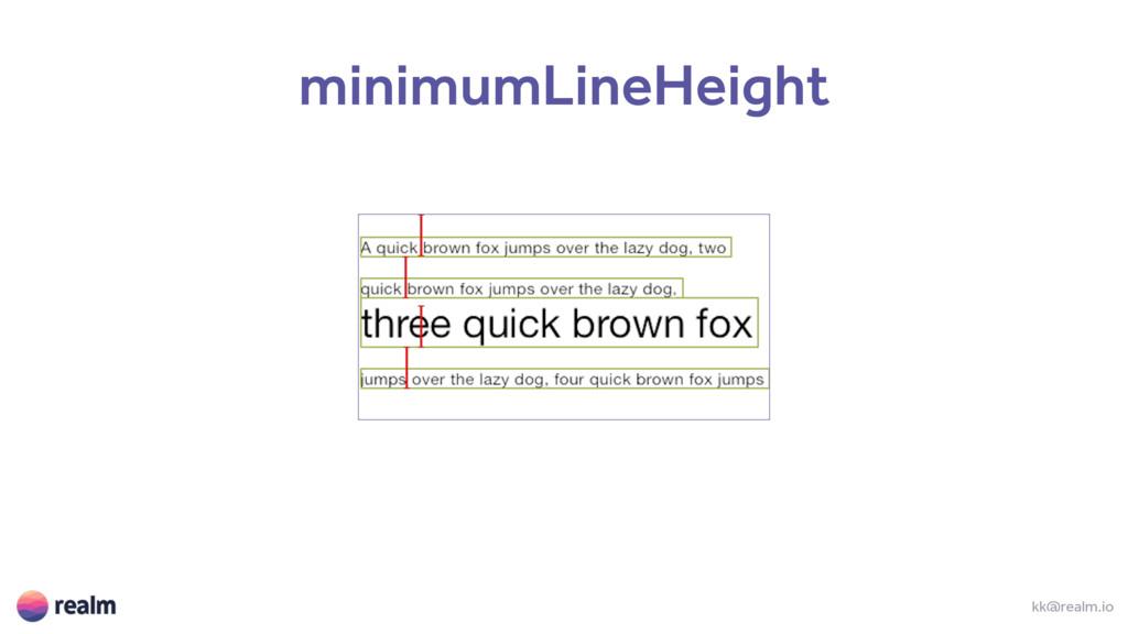 kk@realm.io minimumLineHeight