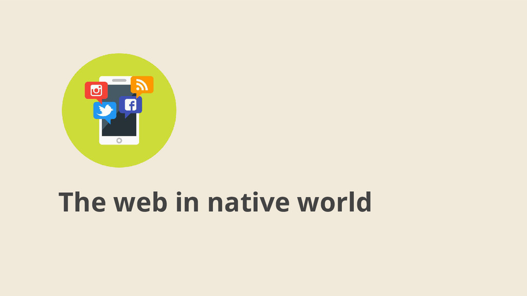 The web in native world