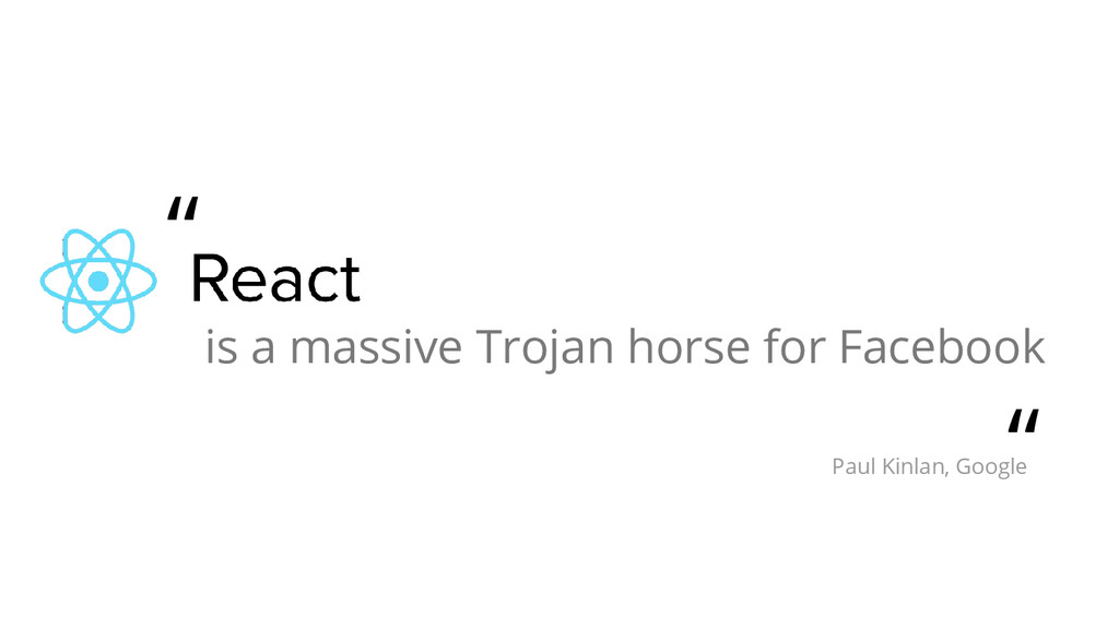 "is a massive Trojan horse for Facebook "" "" Paul..."