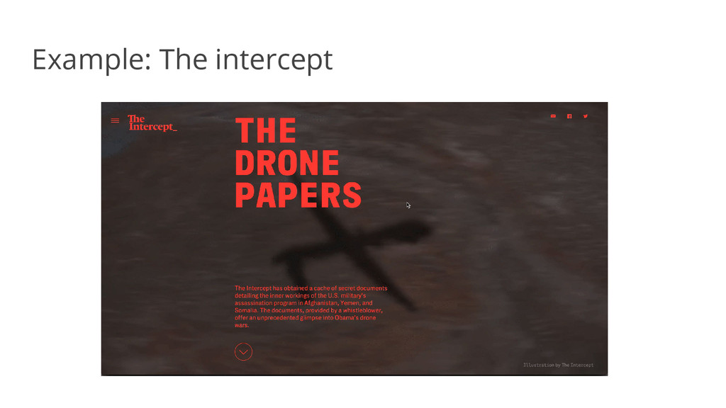 Example: The intercept