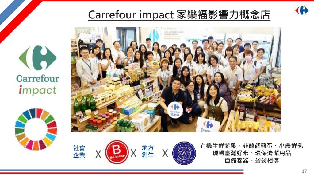17 Carrefour impact 家樂福影響力概念店 有機生鮮蔬果、非籠飼雞蛋、小農鮮乳...