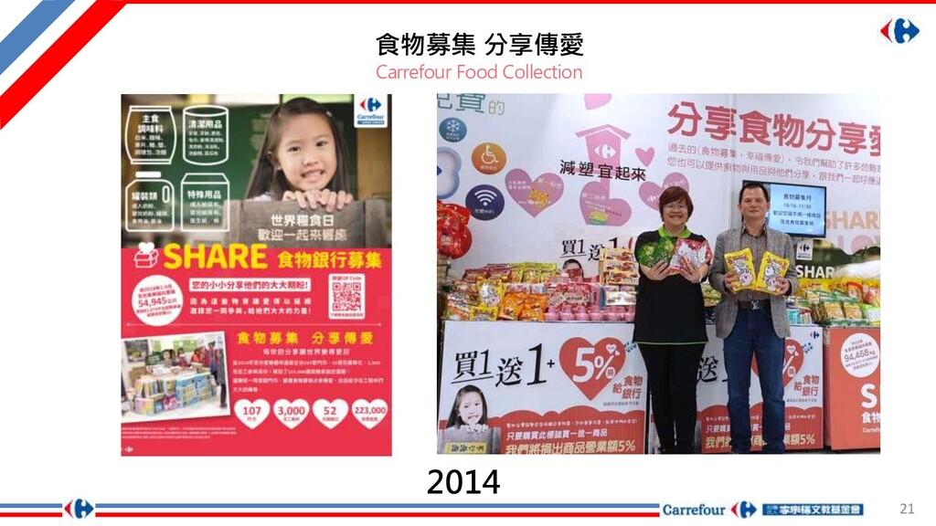 21 食物募集 分享傳愛 Carrefour Food Collection 2014