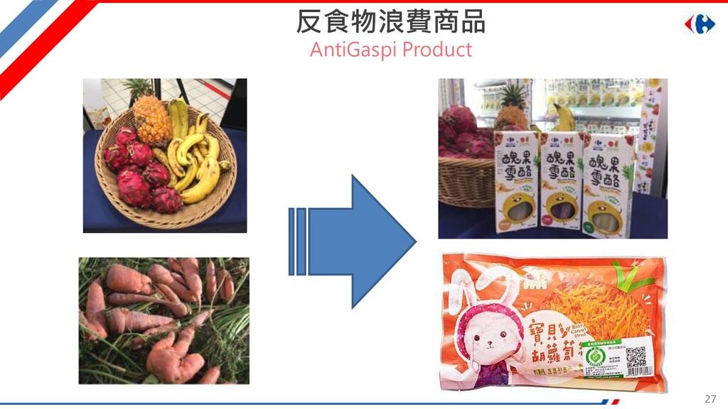 27 反食物浪費商品 AntiGaspi Product