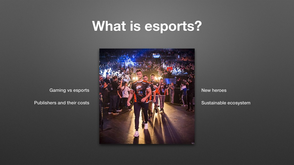 What is esports? Gaming vs esports Publishers a...