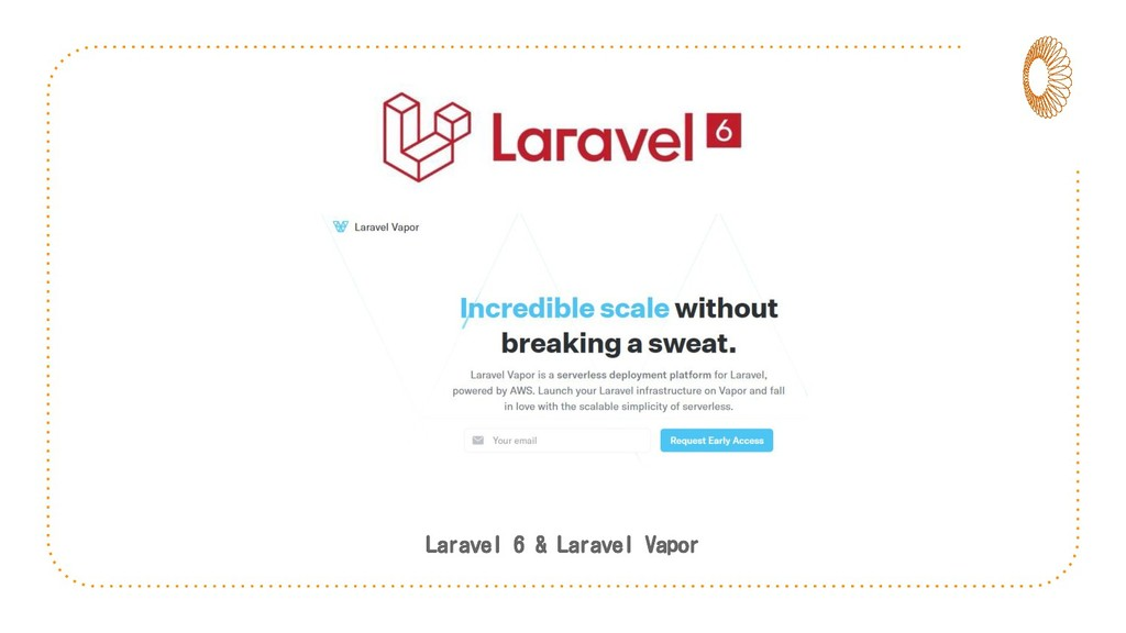 Laravel 6 & Laravel Vapor