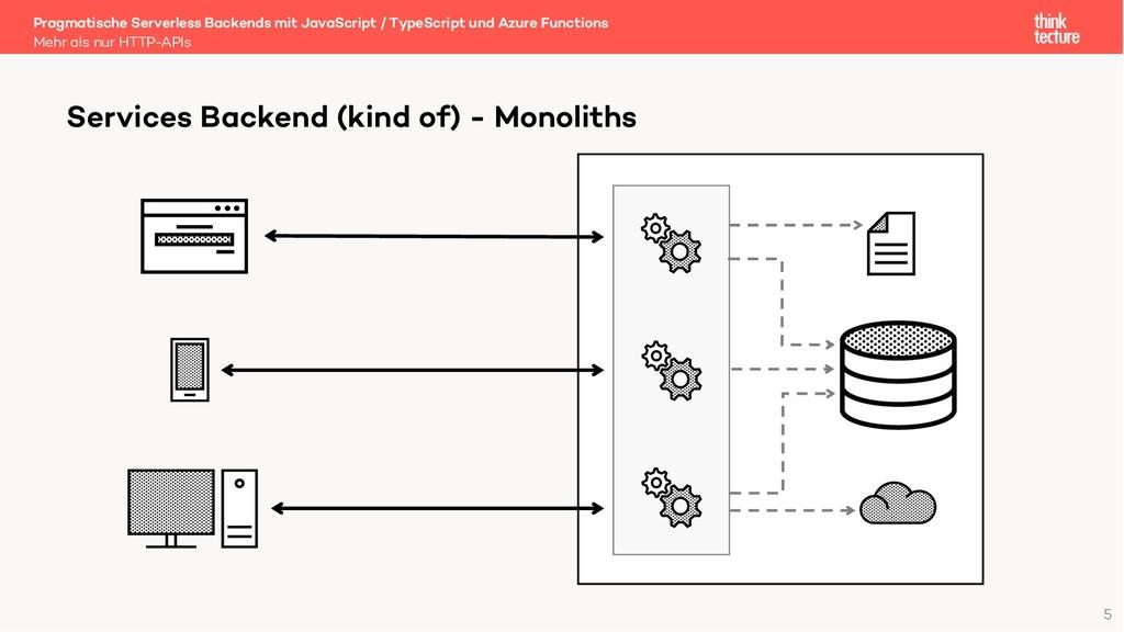 5 Pragmatische Serverless Backends mit JavaScri...
