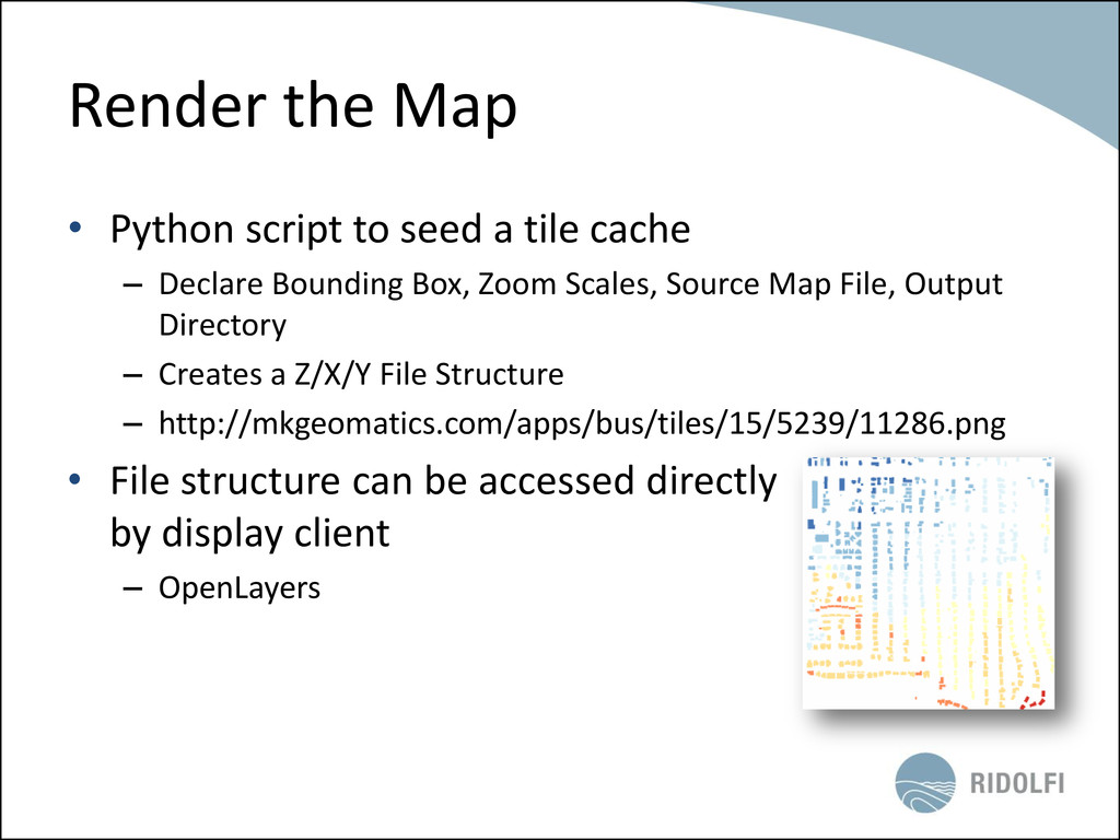 Render the Map • Python script to seed a tile c...