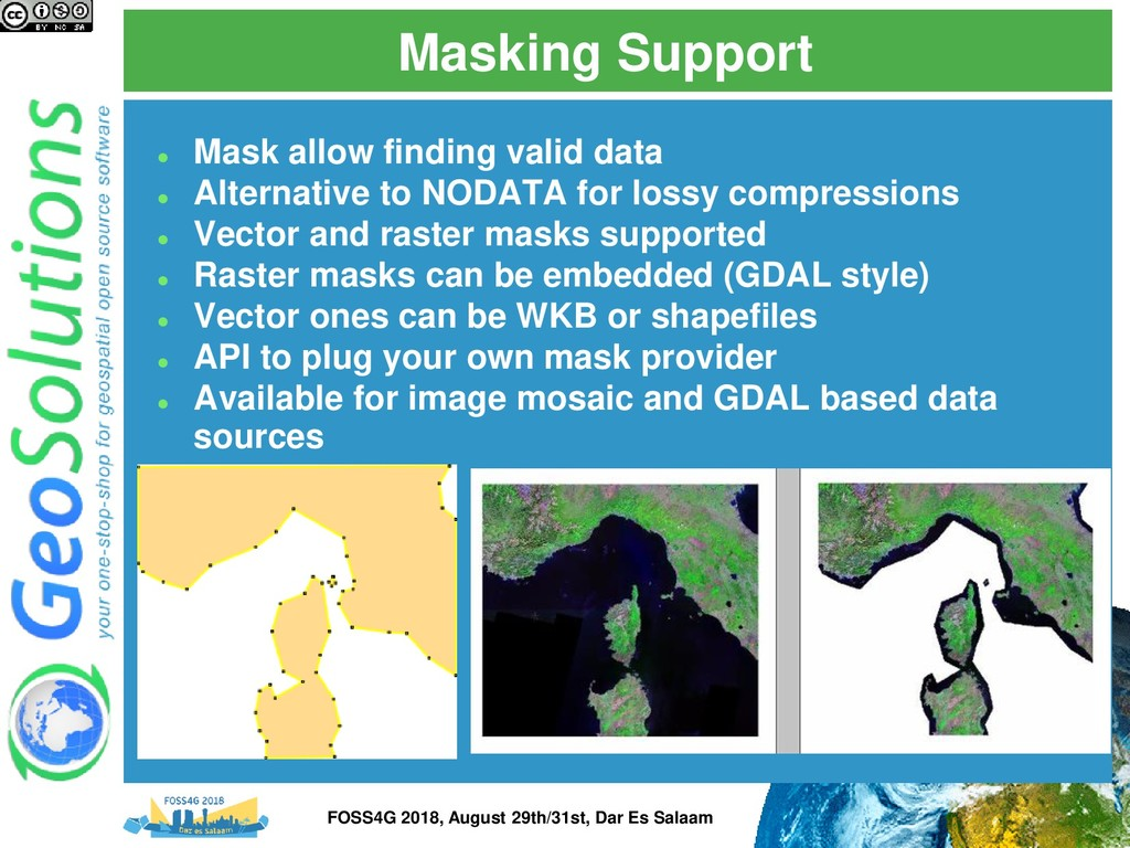 Masking Support ⚫ Mask allow finding valid data...