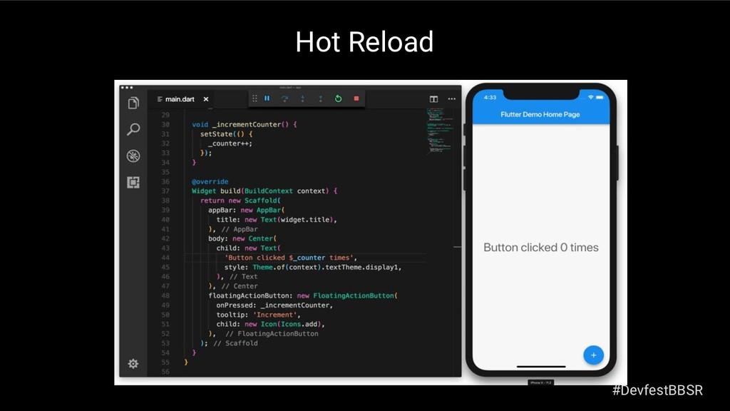 Hot Reload #DevfestBBSR