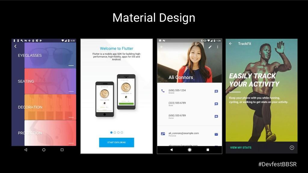 Material Design #DevfestBBSR