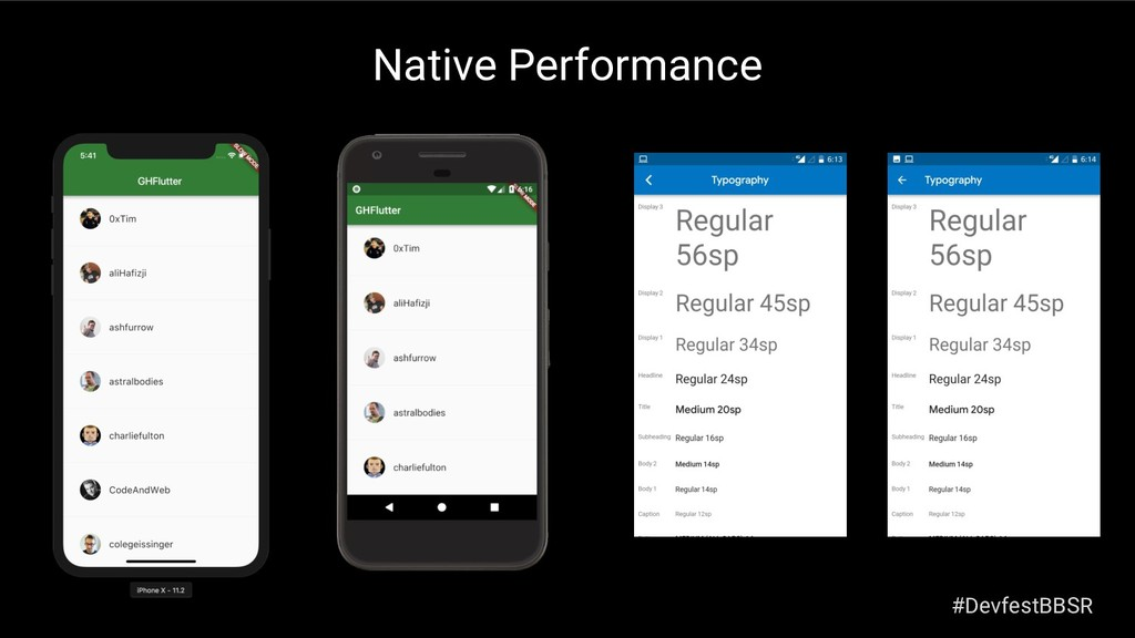 Native Performance #DevfestBBSR