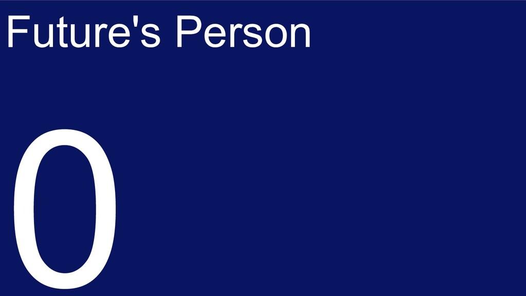 Future's Person 0