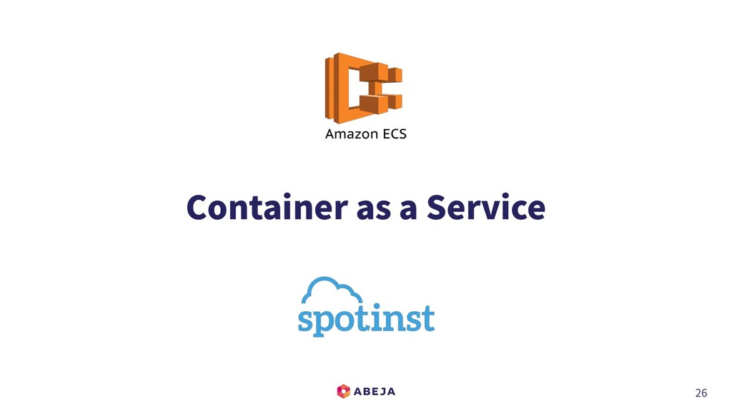 26 Container as a Service