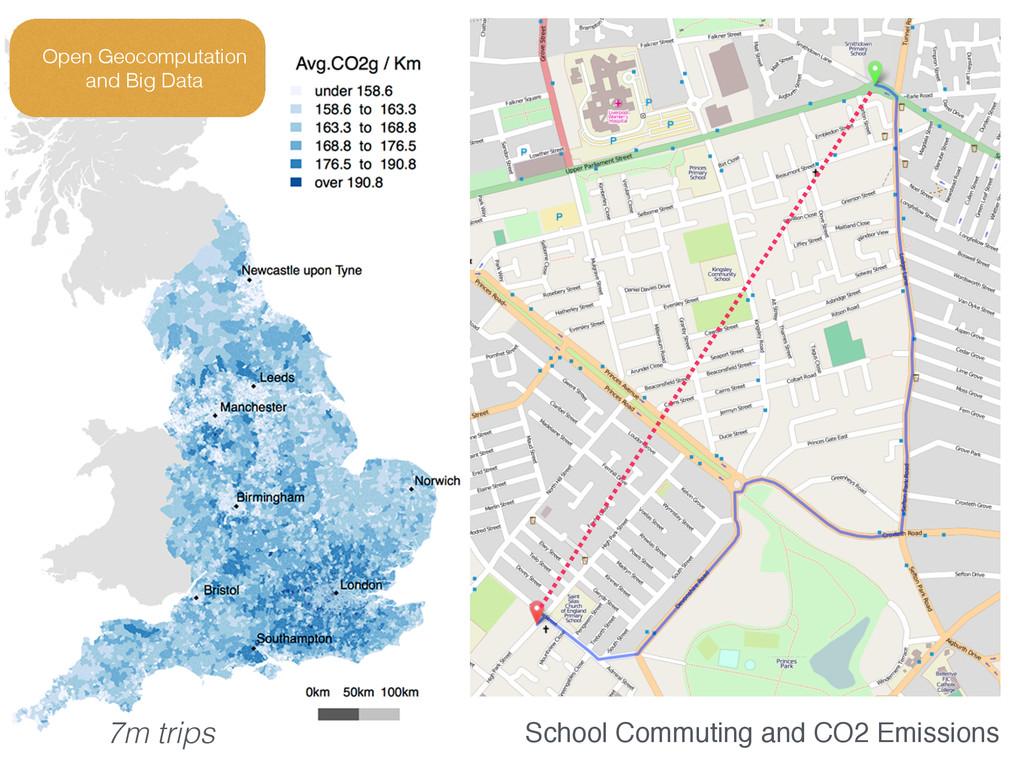 School Commuting and CO2 Emissions Open Geocomp...
