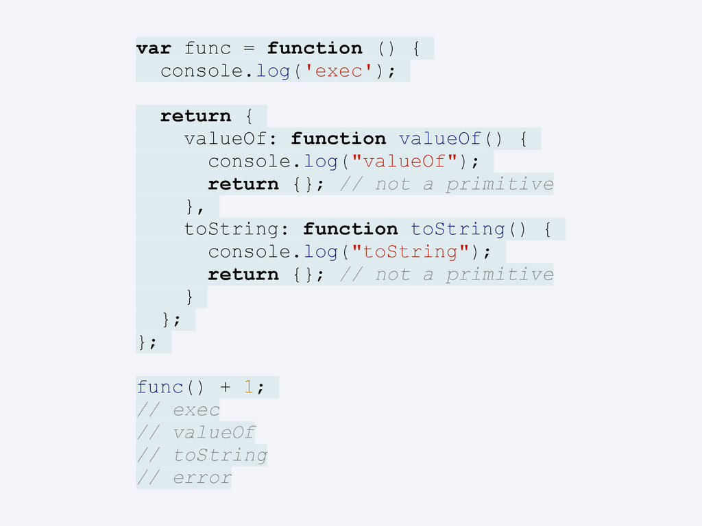 var func = function () { console.log('exec'); r...