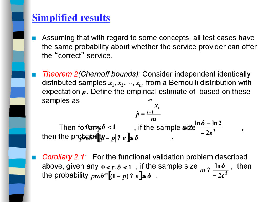 Simplified results ■ Assuming that with regard...