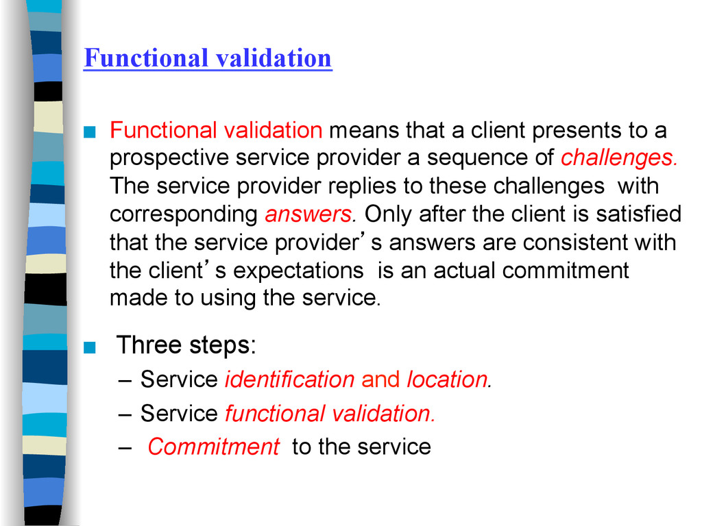 Functional validation ■ Functional validation ...