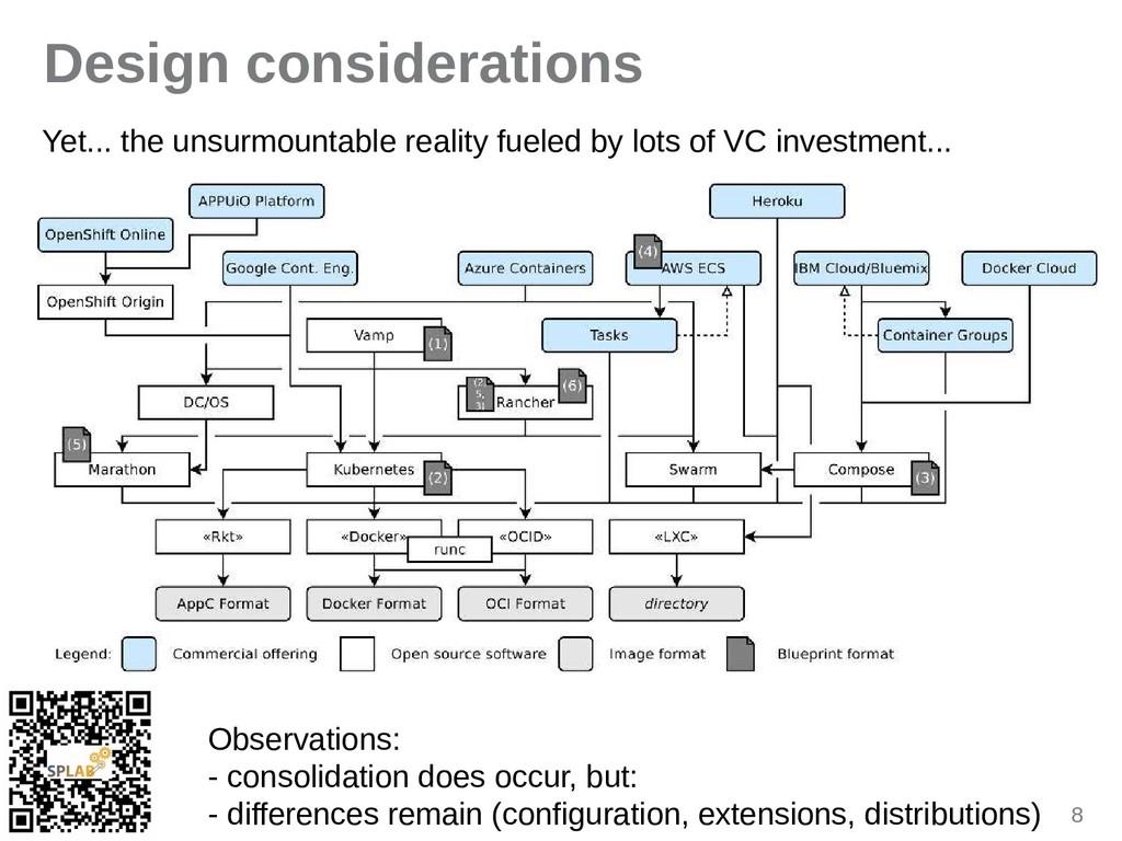 8 Design considerations Yet... the unsurmountab...