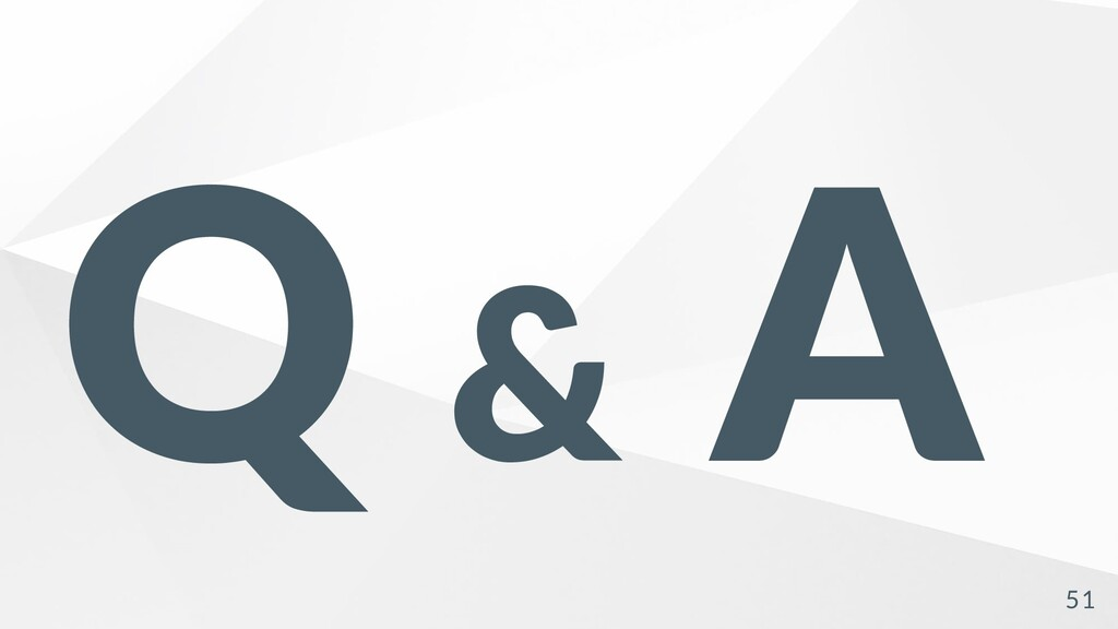 Q & A 51