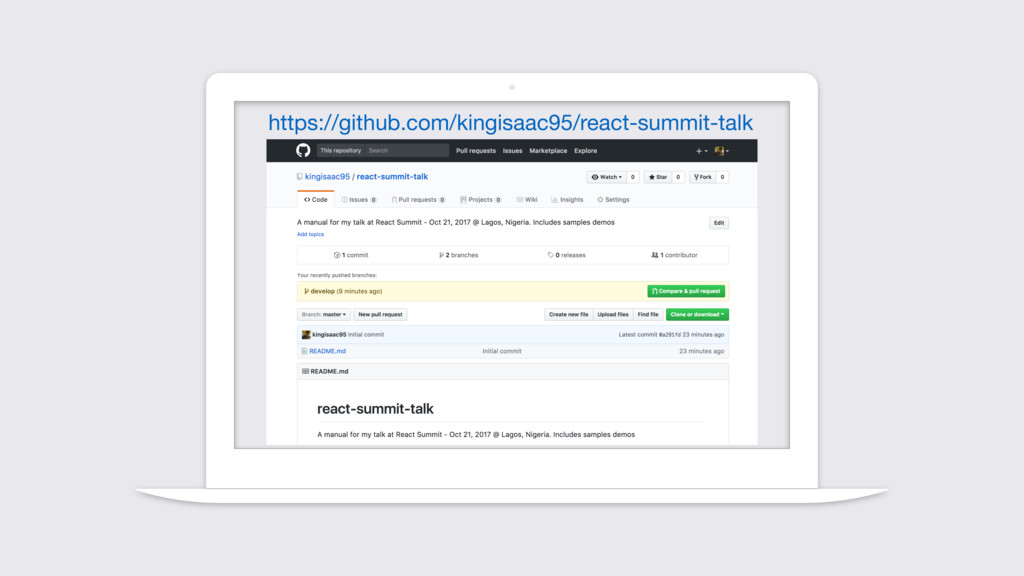 https://github.com/kingisaac95/react-summit-talk