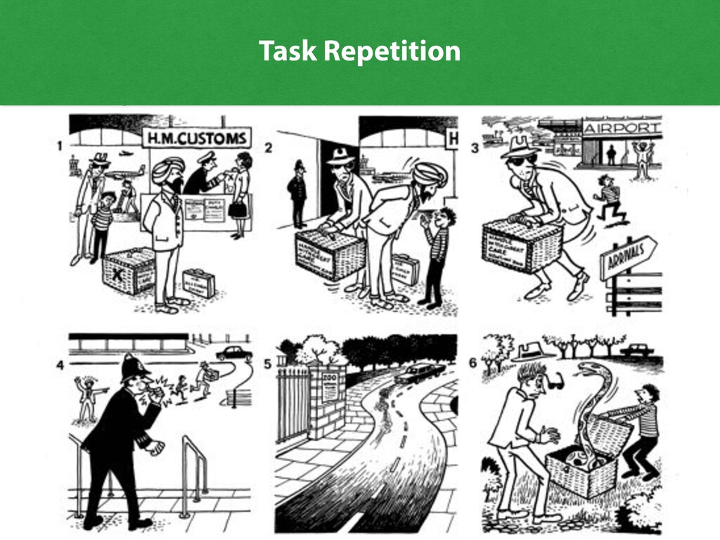 26 A surprise 1 2 Task Repetition