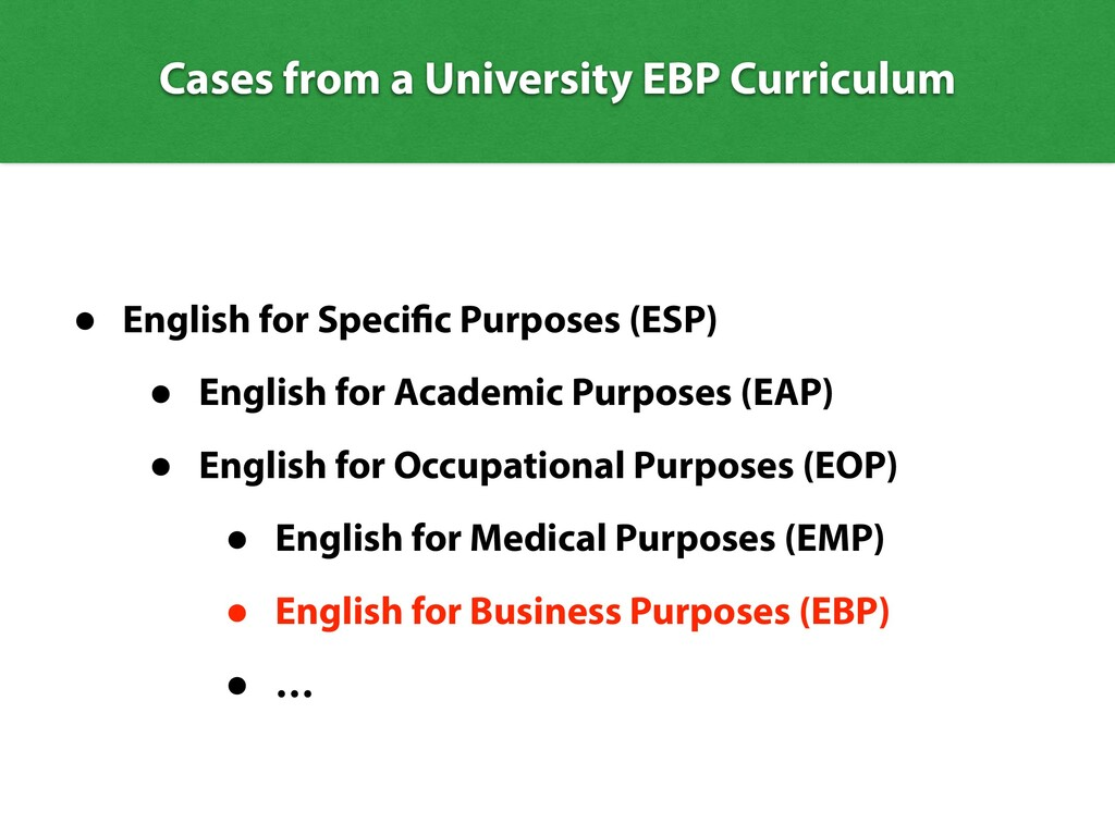 Cases from a University EBP Curriculum • Englis...