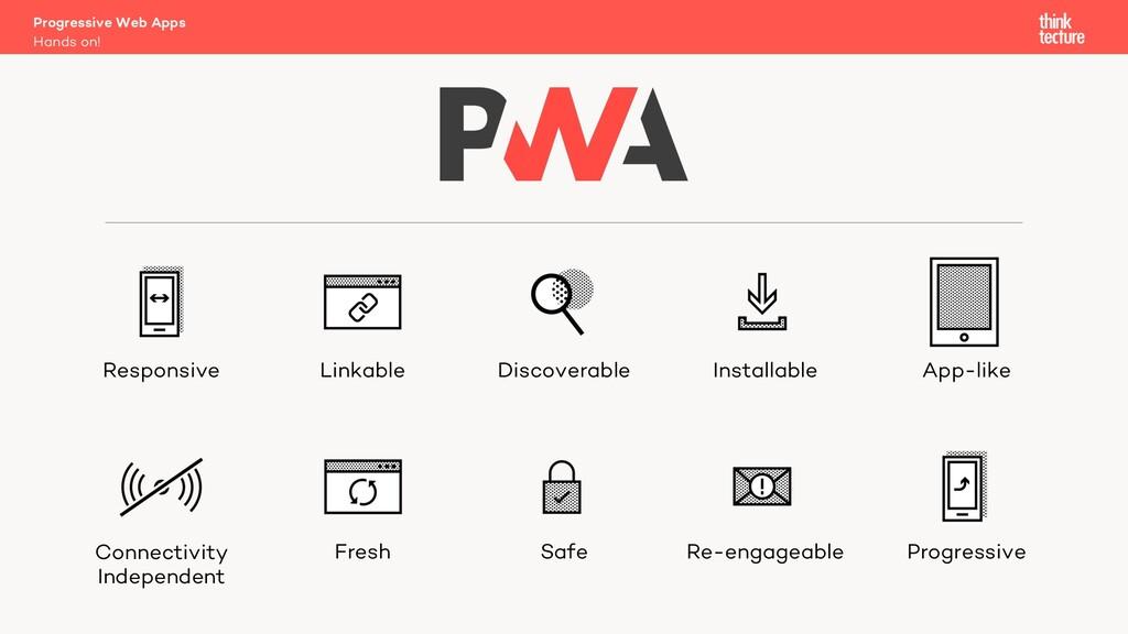 Hands on! Progressive Web Apps Responsive Linka...