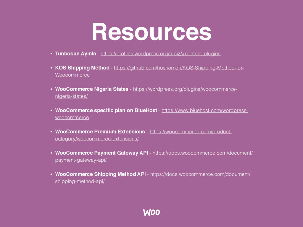 Resources • Tunbosun Ayinla - https://profiles.w...