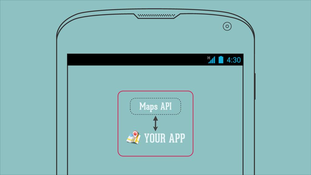 YOUR APP Maps API