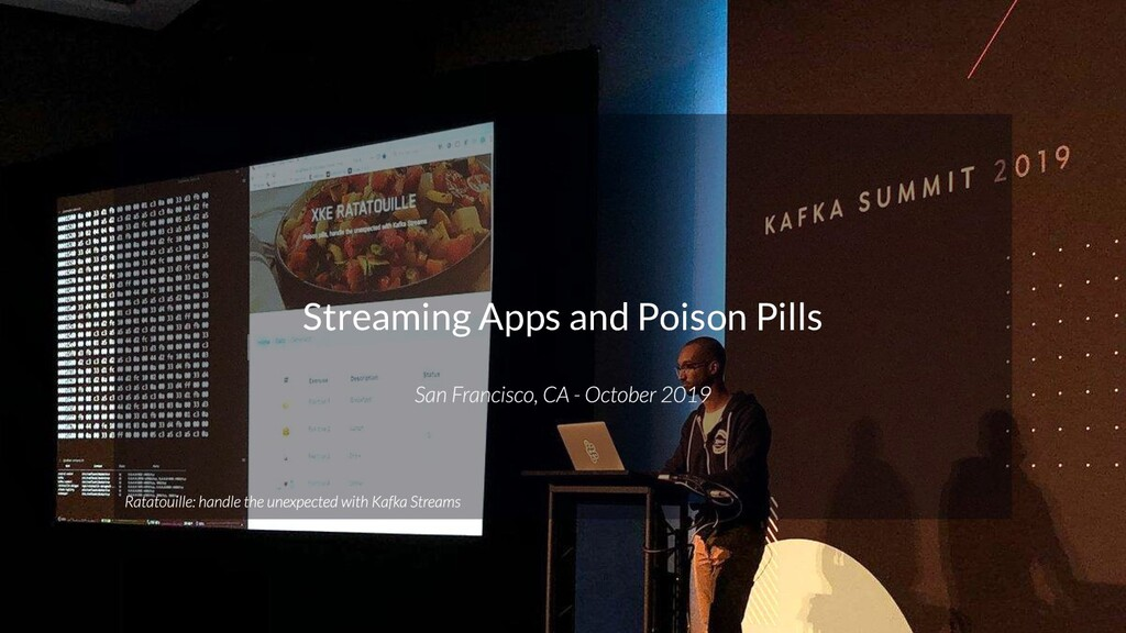 3 @loicmdivad @PubSapientEng Streaming Apps and...