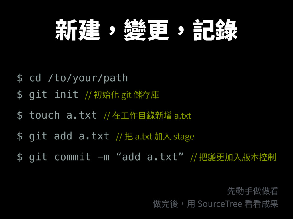 倞䒊隶刿鎹ꏗ $ cd /to/your/path $ git init ⴲ㨥⻋H...