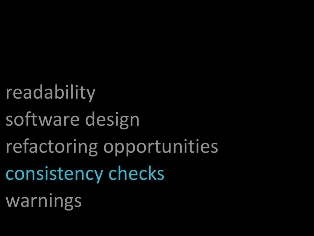 readability software design refactoring opportu...