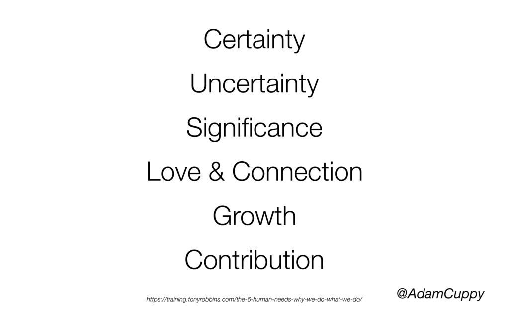 @AdamCuppy Certainty Uncertainty Significance Lo...