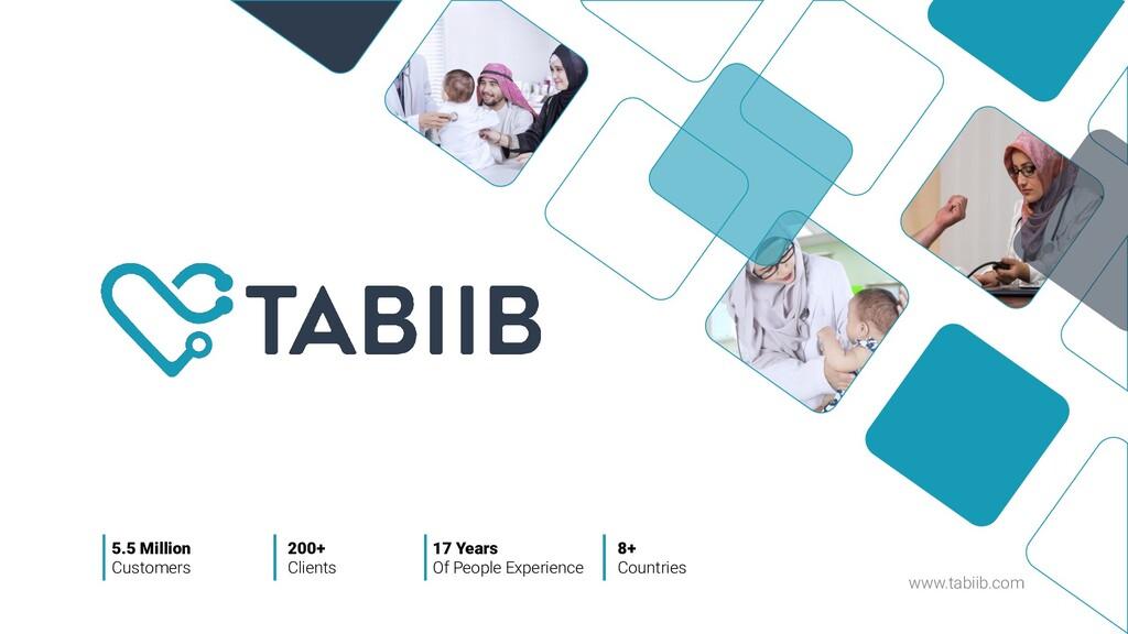www.tabiib.com 5.5 Million Customers 200+ Clien...