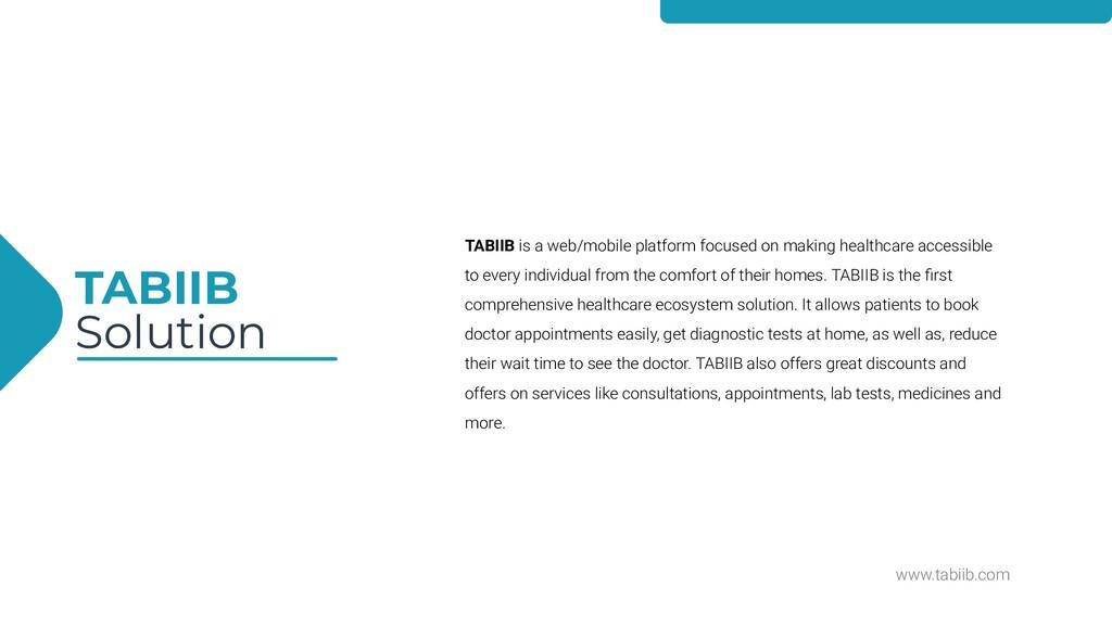www.tabiib.com TABIIB Solution TABIIB is a web/...