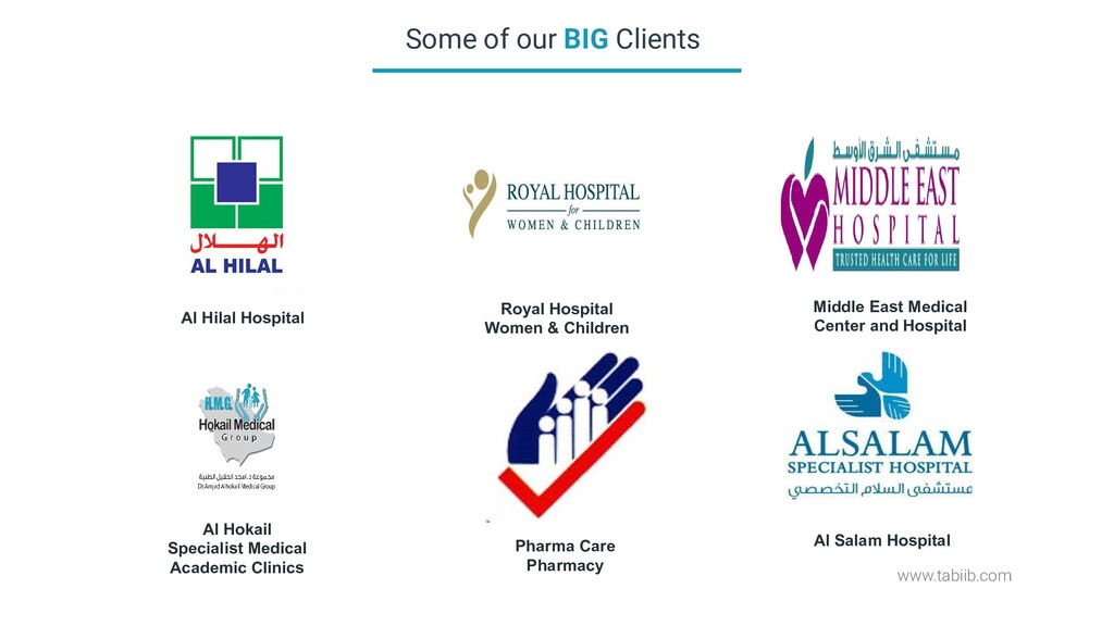 www.tabiib.com Some of our BIG Clients Al Hilal...