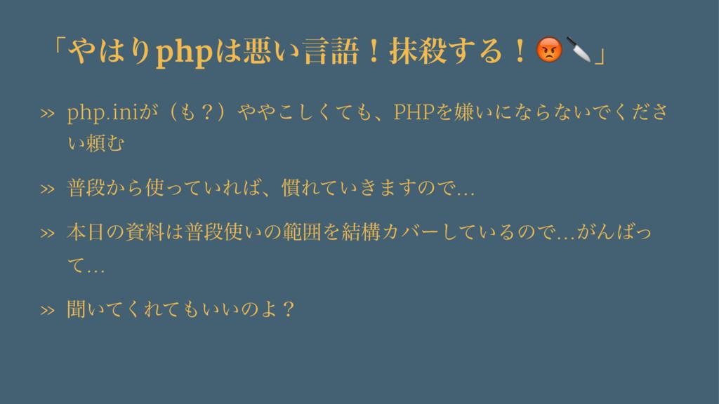 "ʮΓphpѱ͍ݴޠʂຣ͢Δʂ!""ʯ » php.ini͕ʢʁʣͯ͘͜͠ɺPHP..."