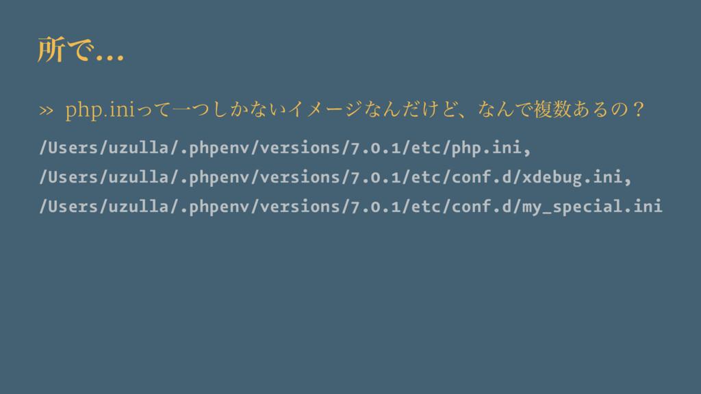 ॴͰ… » php.iniͬͯҰ͔ͭ͠ͳ͍ΠϝʔδͳΜ͚ͩͲɺͳΜͰෳ͋Δͷʁ /Users...