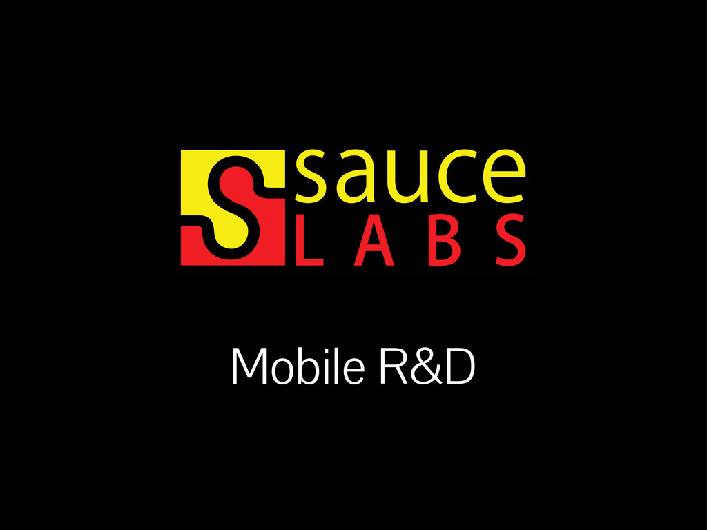 Mobile R&D