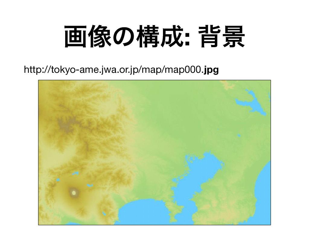 ը૾ͷߏ: എܠ http://tokyo-ame.jwa.or.jp/map/map000...