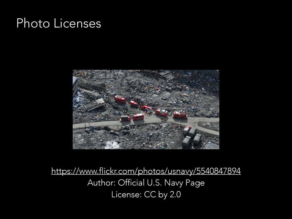 Photo Licenses https://www.flickr.com/photos/us...