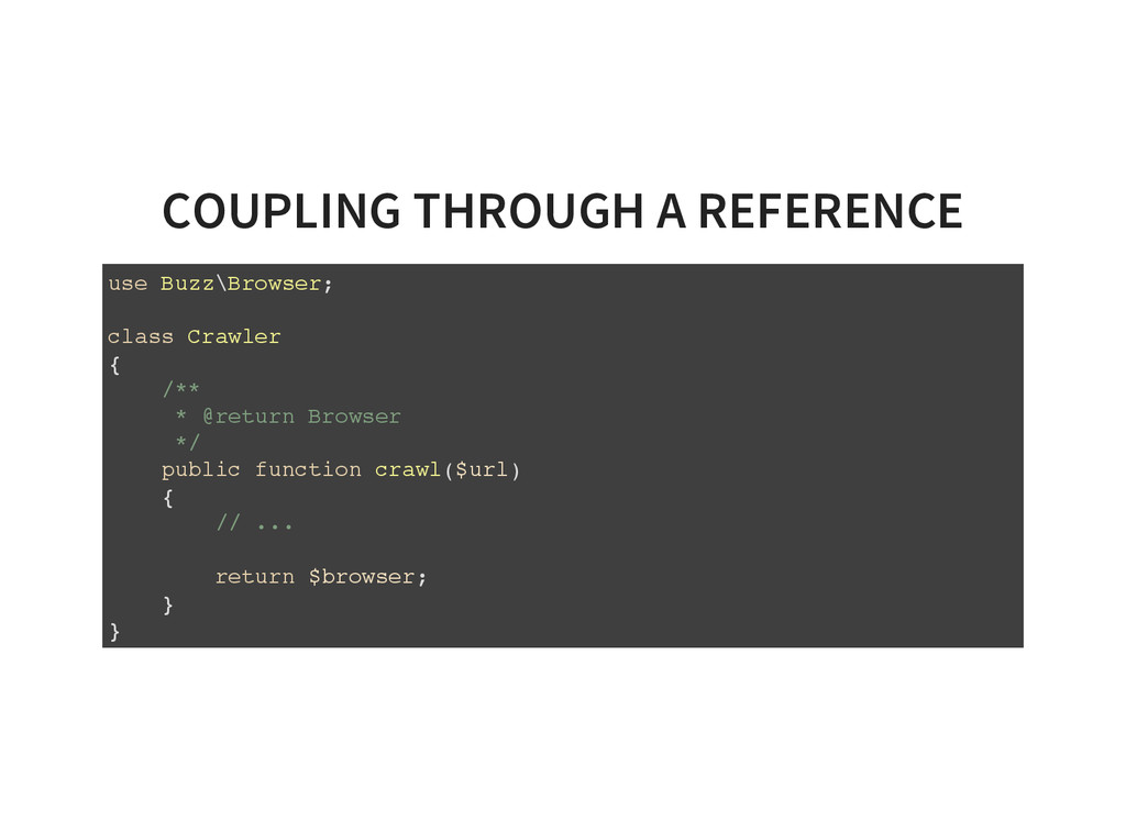 COUPLING THROUGH A REFERENCE u s e B u z z \ B ...