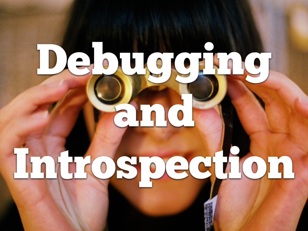 Debugging and Introspection