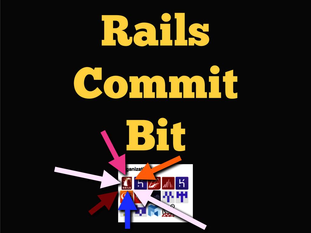Rails Commit Bit
