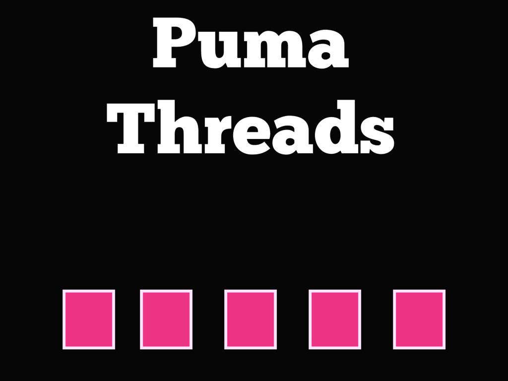 Puma Threads