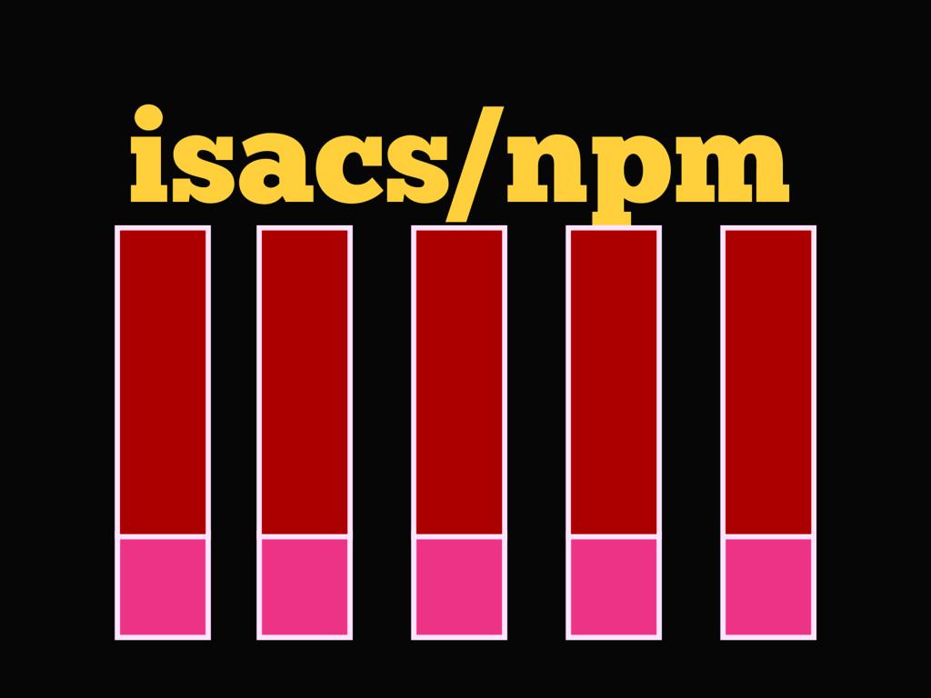 isacs/npm