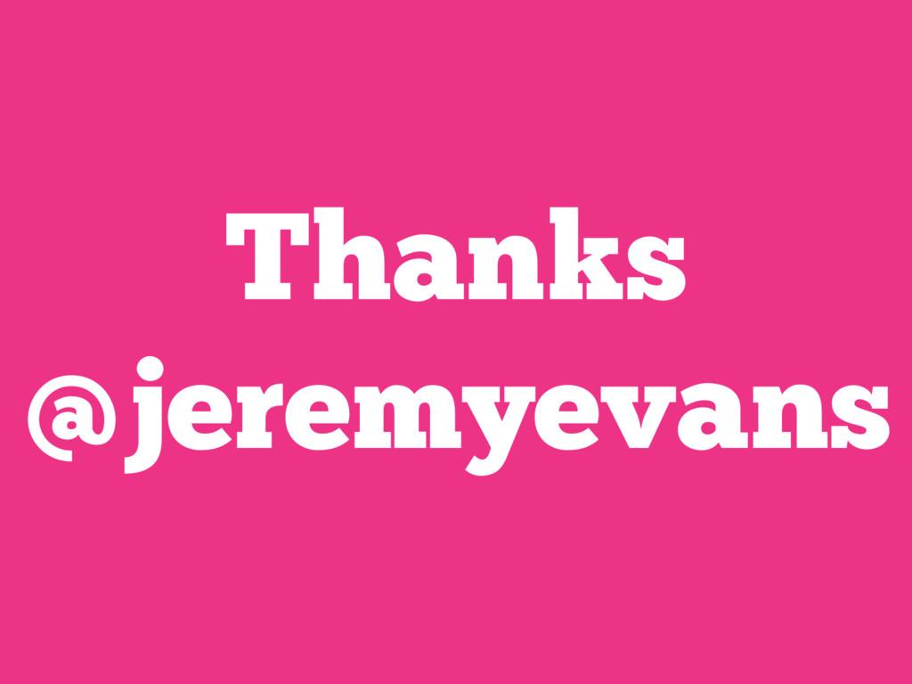 Thanks @jeremyevans