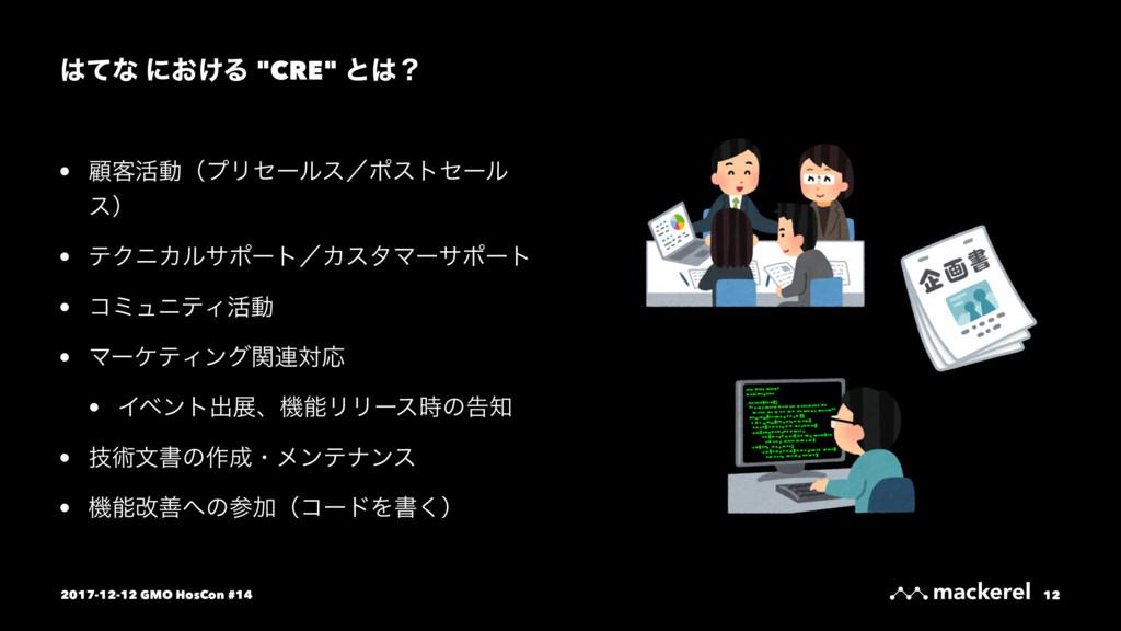 "ͯͳ ʹ͓͚Δ ""CRE"" ͱʁ • ސ٬׆ಈʢϓϦηʔϧεʗϙετηʔϧ εʣ • ςΫ..."