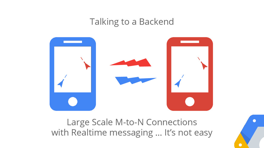 Talking to a Backend Large Scale M-to-N Connect...